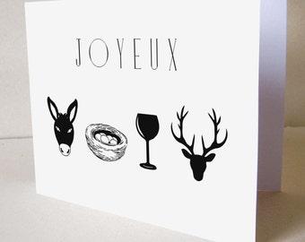 """Carte d'anniversaire """"Le rébus"""""""