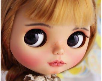 OOAK Custom Blythe doll Face up and Customized Blythe.