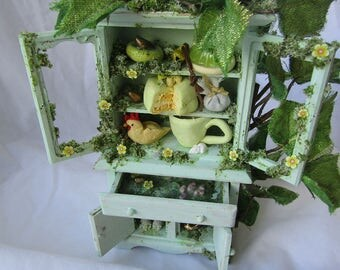 Jack and the Beanstalk faerie cupboard