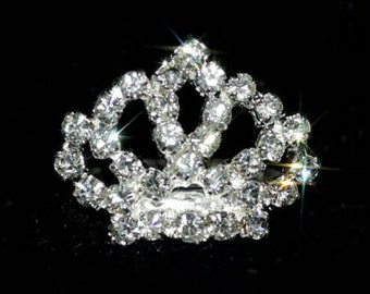 Style # 13913 Rhinestone Crown Adjustable Ring