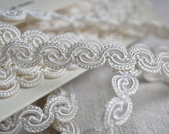 Vintage soutache braid, unused Made in France 2 yards