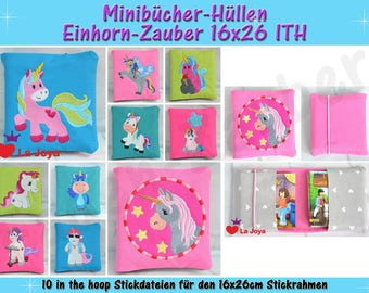 Mini Books-Casing unicorn-magic-ith for the 16x26cm frame