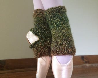 Cozy Ankle Warmers: Forest