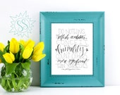 Do Nothing from Selfish Ambition / Christian Office Wall Art / Philippians 2:3 Wall Art / Scripture Wall Art / Humility Wall Art / THW121