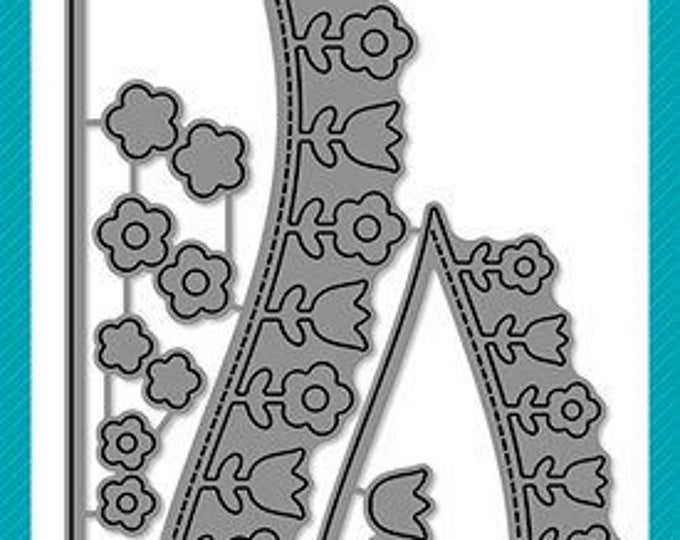 Featured listing image: Lawn Fawn - Lawn Cuts - Dies - Flower Hillside Pop-Up Add-On
