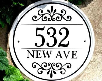 House Number Plaque, Home Address Sign, House Numbers, Sign for Home, House Number Sign, Custom House Numbers, Home Numbers, Address Sign