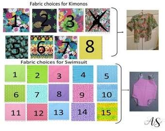 Kimono & Swimsuit