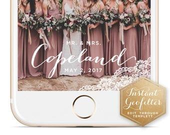 Lace Wedding Snapchat Geofilter | Custom  Geofilter | Birthday  Geofilter | Bridal Shower Geofilter | Wedding Geofilter| Instant Geofilter