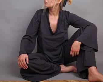 Pajamas, Sleepwear, Loungewear, Casual wear, Sleep set, pijama, top and pants, Woman Pajamas, Cotton Pajamas, UrbanMood, UM-PJ01-CO