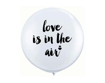 "Love is in the Air 16"" Balloon - 1 pc."