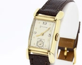 14k yellow gold Bulova
