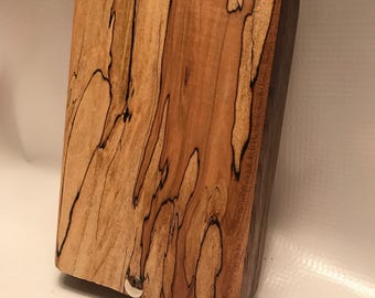 Spalted Maple & Walnut Fly Box