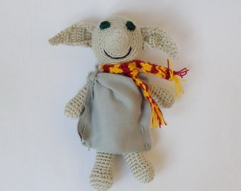 Dobby The House Elf Toy With Scarf From Harry Potter