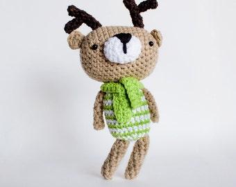 Reindeer amigurumi