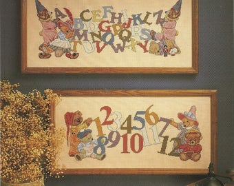 Dimensions:  Alphabears Cross Stitch Chart