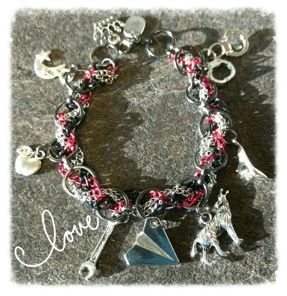 Lunar Chronicles inspired Charm Bracelet