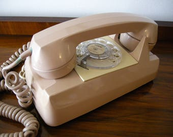 1970's Rotary Starlite Telephone ~ By Automatic Electric ~ Made in the USA