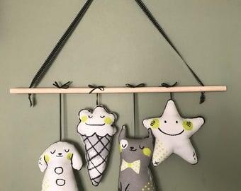 Sleep Tight Nursery Wall Hanging