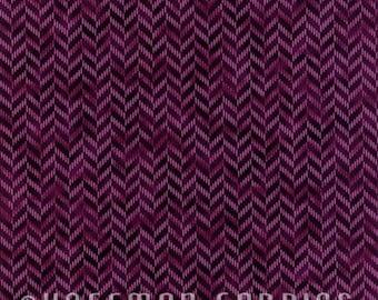 Zig and Zag Plum N7700-46 by Hoffman California Cotton Fabric Yardage