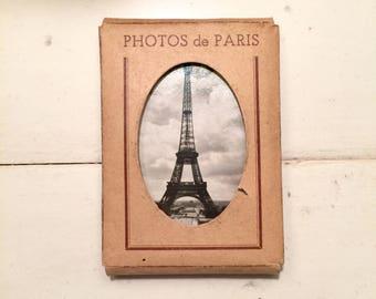 Vintage Paris France Photos Miniature Photographs Art Photos Greff