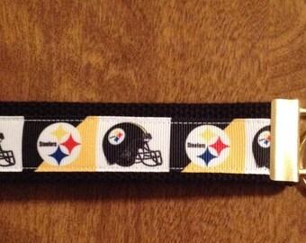 Pittsburgh Steelers Key Chain Zipper Pull