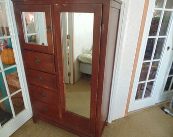 Antique Wardrobe/ Chifarobe