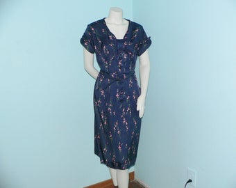 1950's Kerrybrooke Dress with Floral Print