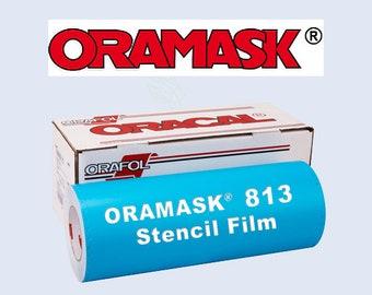 "1 ea / 12""x 24"" Oracal 813 Oramask Stencil Vinyl"