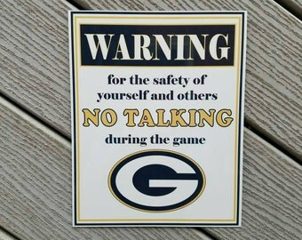 Packers no talking sign