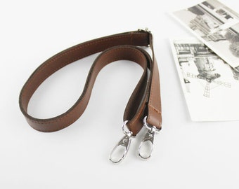 Leather strap, Leather Crossbody Straps, Leather bag strap, Adjustable Synthetic Leather Bag Strap