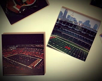 Cincinnati Bengals Themed Tile Coasters