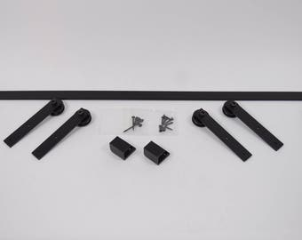 Custom Sized Media Cabinet Sliding Door Hardware Kit