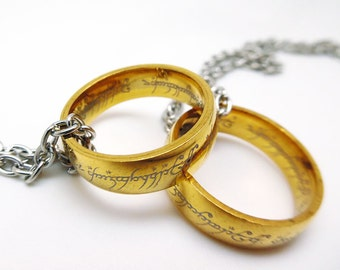 One Ring to Rule Them All - The Hobbit / Lord of the Rings Cosplay Necklace