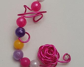 Bubble Gum Ear Wrap