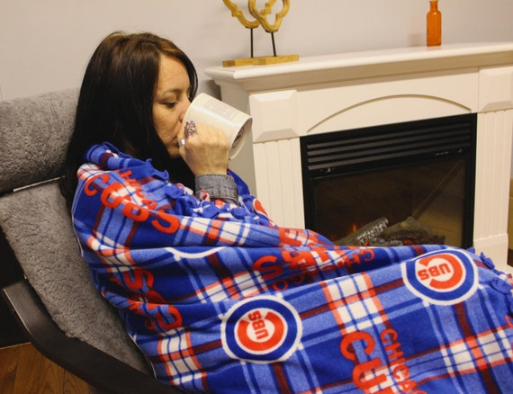 Chicago Cubs fleece, MLB fleece, MLB World Series Champs 2016, Baseball, for the home, fall, warm, blankets, gift, gift ideas, holiday