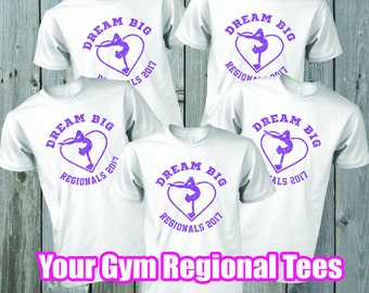 REGIONAL Meet Dream Big Tee