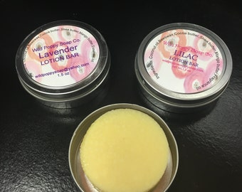 Lotion-Solid Lotion Bars