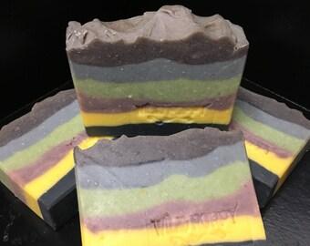 Orange Patchouli Soap / Artisan Soap / Handmade Soap / Soap / Cold Process Soap