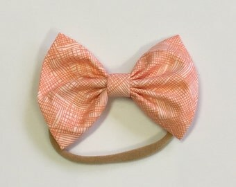 Bright Thatched Baby Bow