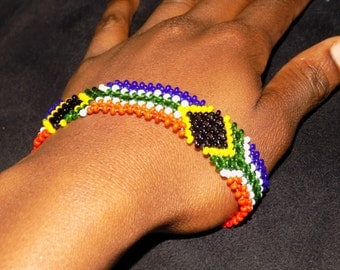 South African Bracelet/Wrist Band/SA Flag Bracelet