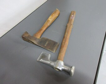Vintage Plumb Walboard Axe Ax Hatchet Hammer Camping Woodworking