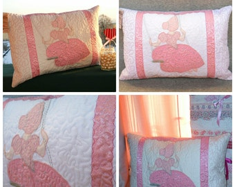 Princess quilted pillow