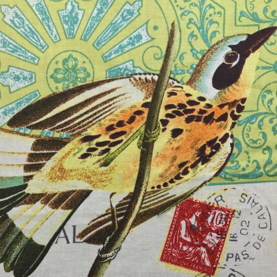 Bird Lovers Fold Over Clutch / Cross Body