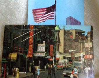 Vintage New York City Postcard City Scapes 2