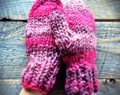 Super warm mittens -  wool