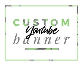 Custom Youtube Design   Youtube Logo   Youtube Cover   Custom Youtube Banner   Social Media Design   Branding   Beauty Vlog Design