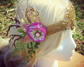 Golden Garden Fairy Crown
