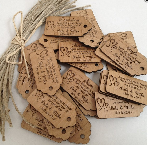 500 Wooden Tags Custom Wooden Labels Clothing Labels