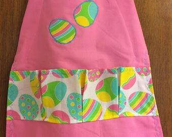 Child's Egg gathering apron