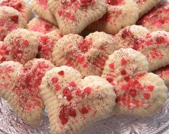 Butter Cookies Spritz Cookies 3 dozen, Mother's Day Cookies,Gourmet Italian Butter Cookies